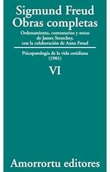 Papel S.FREUD VI -OBRAS COMPLETAS