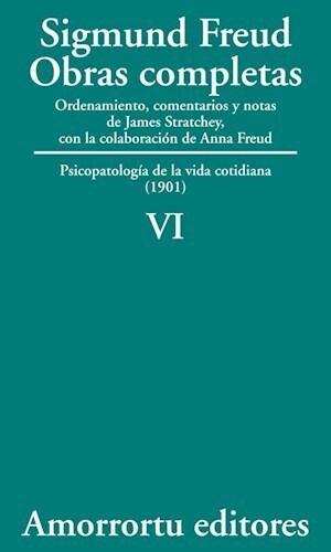 Papel Obras Completas De Sigmund Freud - Vol.06