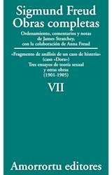 Papel S.FREUD VII OBRAS COMPLETAS