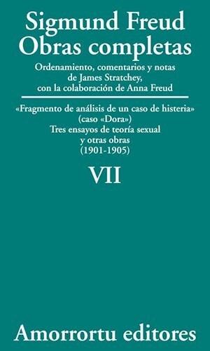 Papel Obras Completas De Sigmund Freud - Vol.07