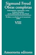 Papel OBRAS COMPLETAS 8 (1905) CHISTE Y SU RELACION CON LO INCONCIENTE (1905)