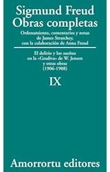 Papel S.FREUD IX OBRAS COMPLETAS