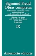 Papel OBRAS COMPLETAS 9 (1906-1908) EL DELIRIO Y LOS SUEÑOS EN LA GRADIVA DE W. JENSEN Y OTRAS OBRAS