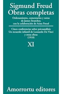 Papel XI. Cinco conferencias sobre psicoanálisis, Un recuerdo infantil de Leonardo Da Vinci, y otras obras (1910)