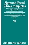 Papel OBRAS COMPLETAS 11 (1910) CINCO CONFERENCIAS SOBRE PSICOANALISIS - UN RECUERDO INFANTIL DE LEONARDO