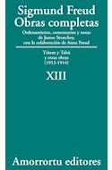Papel OBRAS COMPLETAS 13 (1913-1914) TOTEM Y TABU Y OTRAS OBRAS (1913-1914)