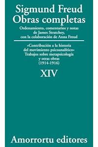 Papel XIV. «Contribución a la historia del movimiento psicoanalítico», Trabajos sobre metapsicología, y otras obras (1914-1916)