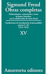 Papel S.FREUD XV OBRAS COMPLETAS