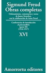 Papel S.FREUD XVI OBRAS COMPLETAS
