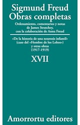 Papel S.FREUD XVII OBRAS COMPLETAS  XVII