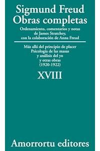 Papel XVIII. Más allá del principio de placer, Psicología de las masas y análisis del yo, y otras obras (1920-1922)