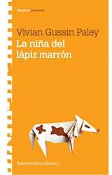 Papel LA NIÑA DEL LAPIZ MARRON