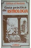 Papel GUIA PRACTICA DE ASTROLOGIA