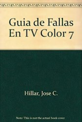 Papel Guia De Fallas Localizadas En Tv Color 7