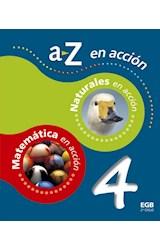 Papel A Z EN ACCION 4 EGB NATURALES / MATEMATICA