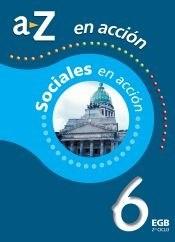 Papel SOCIALES EN ACCION 6 EGB NACION A Z
