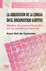 Papel ADQUISICION DE LA LENGUA EN EL DISCAPACITADO AUDITIVO