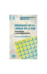 Papel ENSEÑANZA DE LA LENGUA EN LA EGB (CONCEPTOS Y PROCEDIMIENTOS