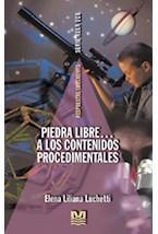 Papel PIEDRA LIBRE...A LOS CONTENIDOS PROCEDIMENTALES