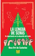 Papel LENGUA DE SEÑAS SU IMPORTANCIA EN LA EDUCACION DEL SORDO (COLECCION RESPUESTAS EDUCATIVAS)