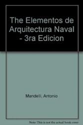 Libro Elementos De Arquitectura Naval
