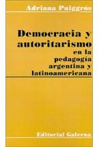 Papel DEMOCRACIA Y AUTORITARISMO EN LA PEDAGOGIA ARGENTINA LATINOA