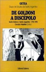 Papel De Goldoni A Discepolo
