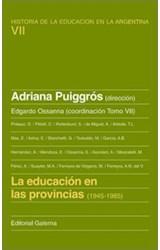 Papel EDUCACION EN LAS PROVINCIAS (1945-1985)