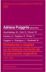 Papel DICTADURAS Y UTOPIAS EN LA HISTORIA RECIENTE DE LA EDUCACION