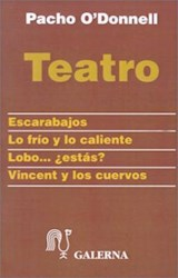"""Papel Teatro Pacho O""""Donnell"""