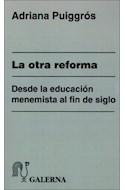 Papel OTRA REFORMA DESDE LA EDUCACION MENEMISTA AL FIN DEL SI