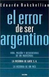 Papel Error De Ser Argentino, El