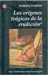 Papel LOS ORIGENES TRAGICOS DE LA ERUDICION