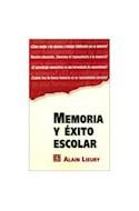 Papel MEMORIA Y EXITO ESCOLAR (POPULAR 572)