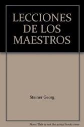 Libro Lecciones De Los Maestros