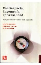 Papel CONTINGENCIA, HEGEMONIA, UNIVERSALIDAD (DIALOGOS CONTEMPORAN