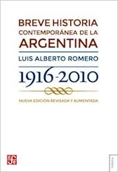 Papel Breve Historia Contemporanea De La Argentina Revisada Y Aumentada