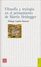 Libro Filosofia Y Teologia En El Pensamiento De Martin Heidegger