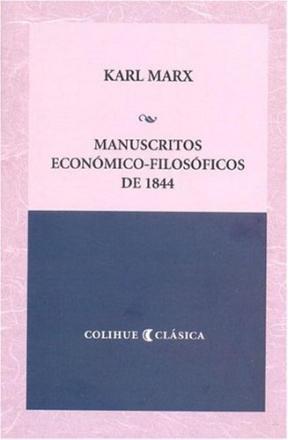 Papel Manuscritos Económico-Filosóficos De 1844