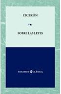 Papel SOBRE LAS LEYES (COLECCION CLASICA)