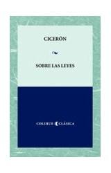 Papel SOBRE LAS LEYES (COLECCION CLASICA) (BOLSILLO)