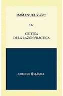 Papel CRITICA DE LA RAZON PRACTICA (COLECCION COLIHUE CLASICA)