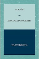Papel APOLOGIA DE SOCRATES [EDICION BILINGUE] (COLECCION COLIHUE CLASICA)