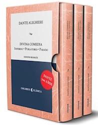 Libro Divina Comedia  Pack 3 Tomos