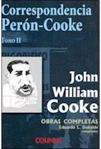 Papel CORRESPONDENCIA PERON-COOKE TOMO 2
