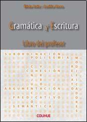 Papel GRAMATICA Y ESCRITURA LIBRO DEL PROFESOR