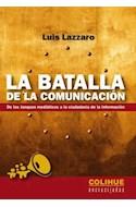 Papel BATALLA DE LA COMUNICACION DE LOS TANQUES MEDIATICOS A LA CIUDADANIA DE LA INFORMACION (ENCRUCIJADAS