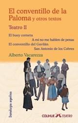 Papel CONVENTILLO DE LA PALOMA Y OTROS TEXTOS TEATRO III