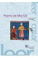 Papel POEMA DE MIO CID (COLECCION LEER Y CREAR 29) (RUSTICA)
