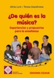 Libro De Quien Es La Musica ?
